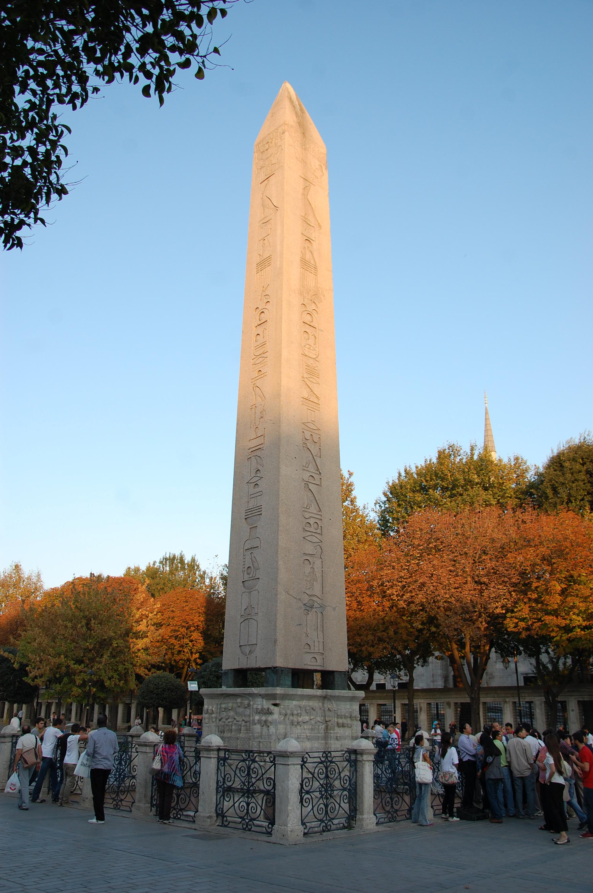 OBELISK OF THEODOSIUS I, CONSTANTINOPLE  open.conted.ox ...