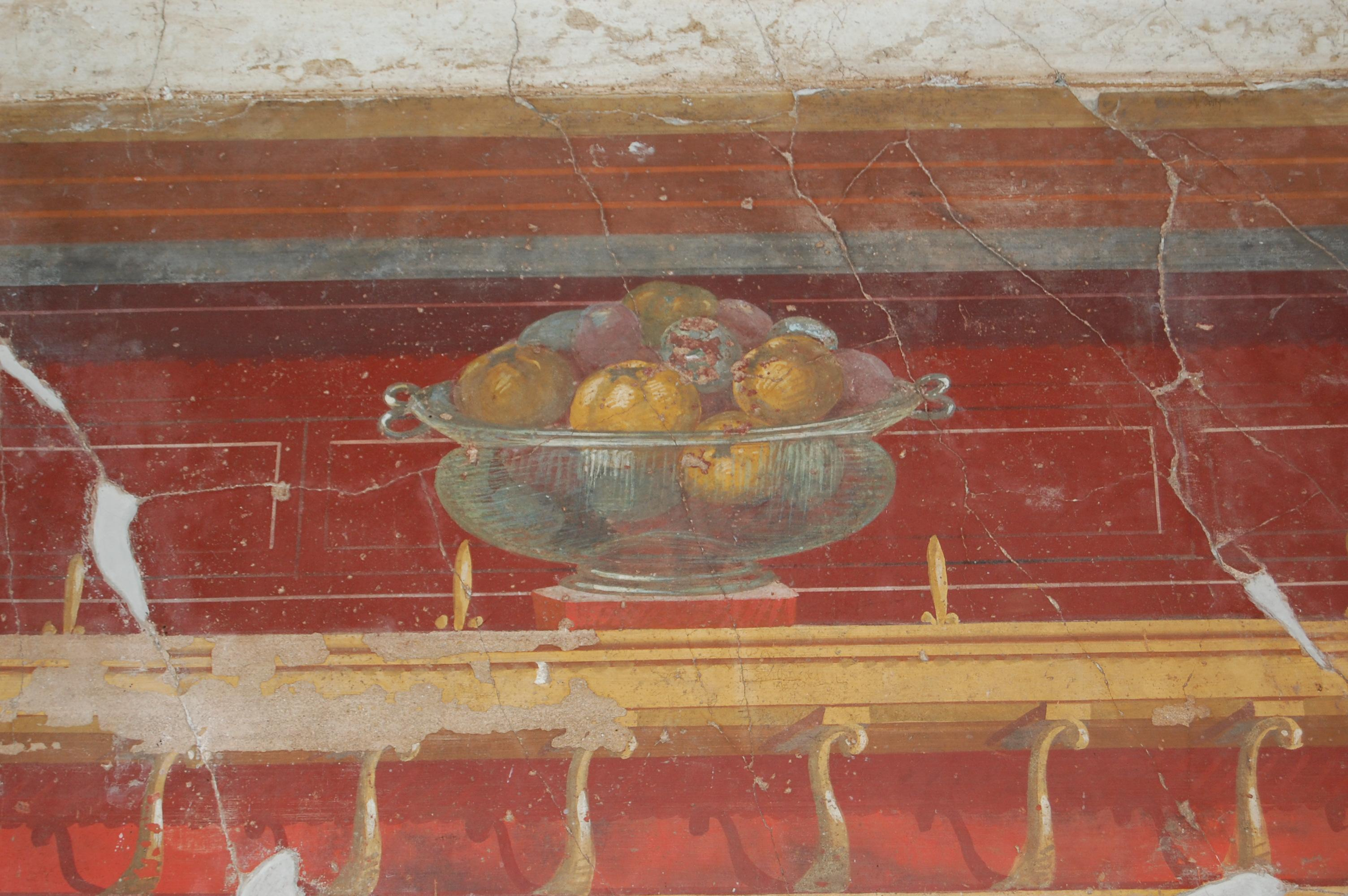 villa oplontis wall paintings open conted ox ac uk beta