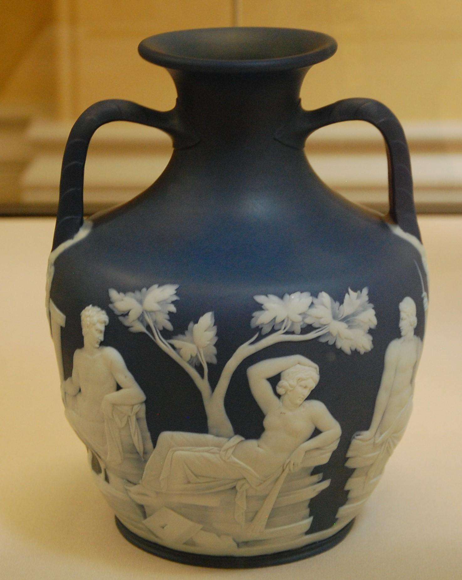 Wedgwood and the portland vase openntedox beta blue jasperware copy of the portland vase wedgwood c 1791 presented to the bm by josiah wedgewoods eldest son john in 1802 reviewsmspy